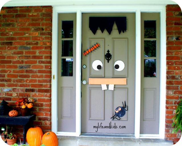 Halloween Door Fun Family Crafts
