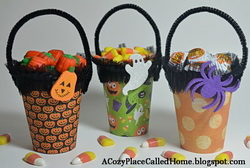 Halloween Party Favor Cups