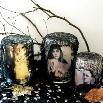 Creepy Halloween Jars