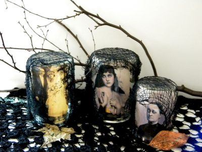 Creepy Halloween Jars