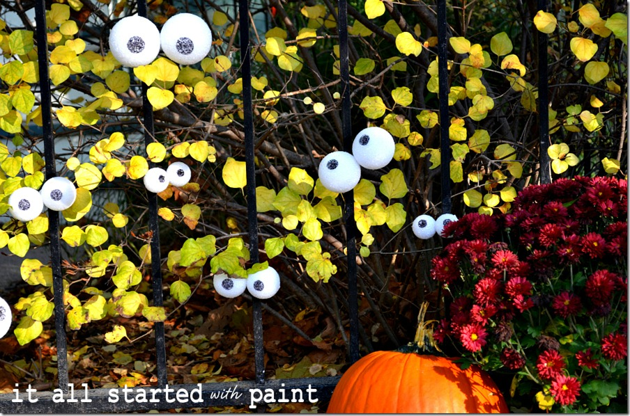 Outdoor Spooky Eyes