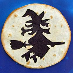 Halloween Witch Tortilla