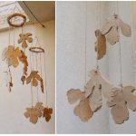 Clay Leaf Windchime