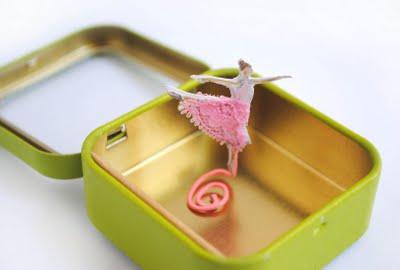 Moving Ballerina Toy