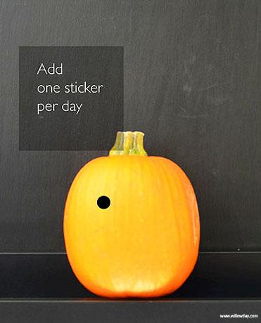 Halloween Countdown Jack O'Lantern