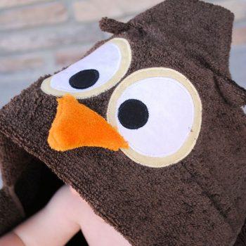 Hooded Owl Towel