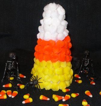 Pom Pom Candy Corn
