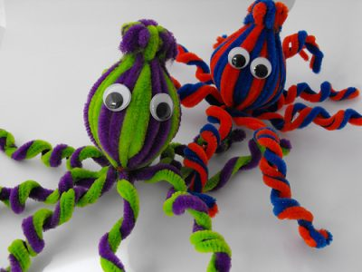 Pipe Cleaner Octopus