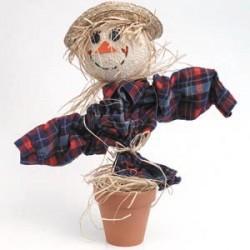 Styrofoam Scarecrow