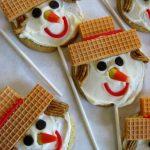 Scarecrow Lollipop Cookies
