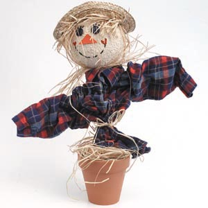 Potted Scarecrow