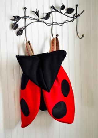 LadyBug Costume / Backpack