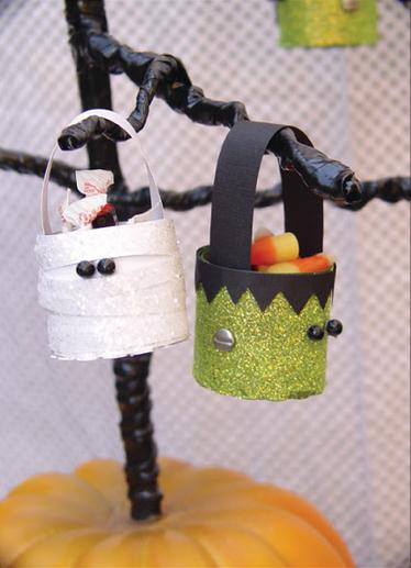 Treat Bucket Halloween Characters
