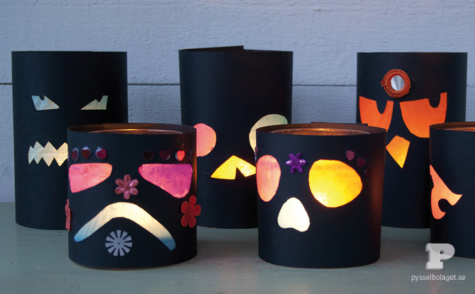 Spooky Halloween Lanterns Fun Family Crafts