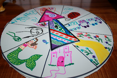 Story Wheel Fun Family Crafts