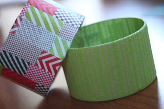 Bracelets from Washi Tape