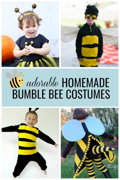homemade bumble bee costumes for kids