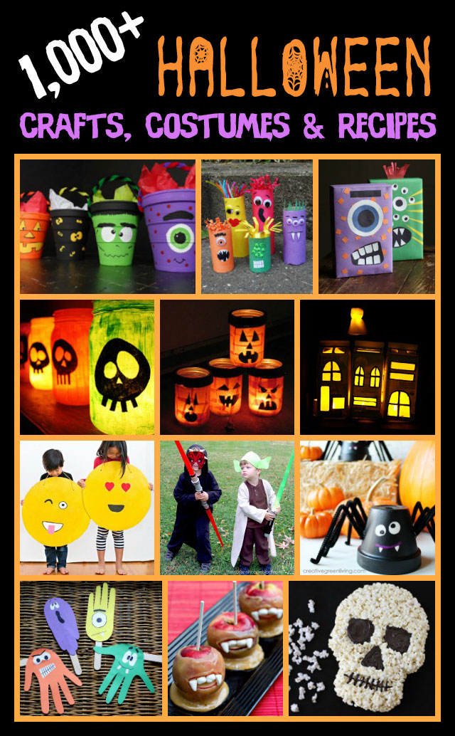 It's the Halloween JACKPOT!! There are over 1,000 Halloween crafts, costume ideas, and spooky recipes, why go anywhere else??