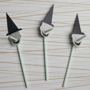 Halloween Straw Toppers