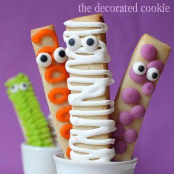 Monster Cookie Sticks