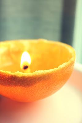 Orange Peel Candle