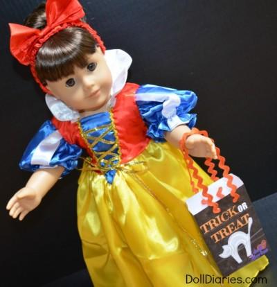 Printable Halloween Treat Bag for Dolls