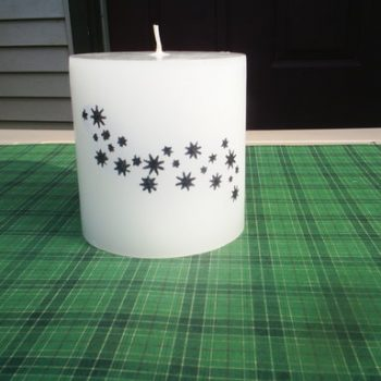 Transferring Images to a Candle