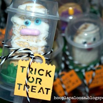 Trick or Treater Push Up Pops