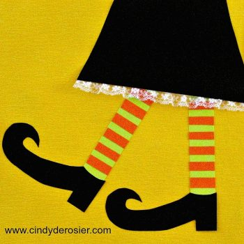 Paper Witch Legs