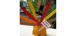 Craft Stick Turkey