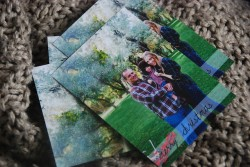 Glitter Photo Christmas Cards