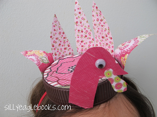 Bottle Cap Thanksgiving Turkey Hat