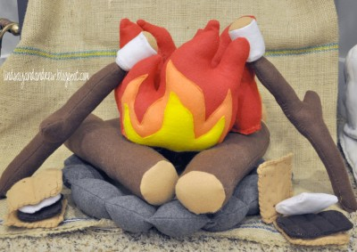 Felt Campfire Play Set Fun Family Crafts