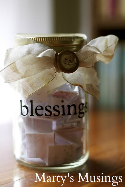 Jar Of Blessings Fun Family Crafts