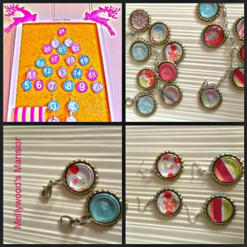 Bottle Cap Jewelry Advent