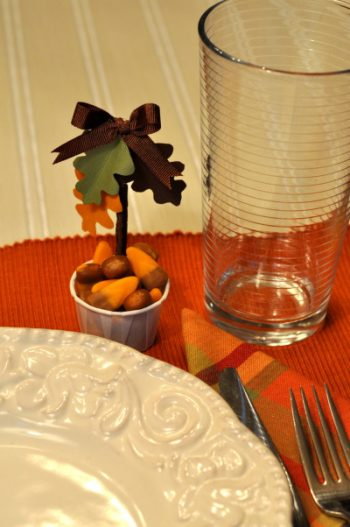 Thanksgiving Candy Cups