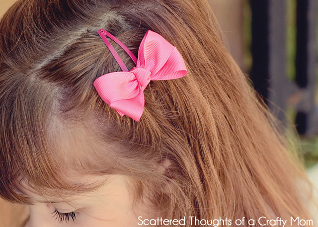 Hair Bow Clips