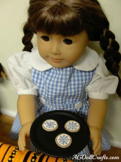 Canning Lid Doll Plates