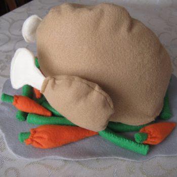 Felt Food Turkey for Thanksgiving
