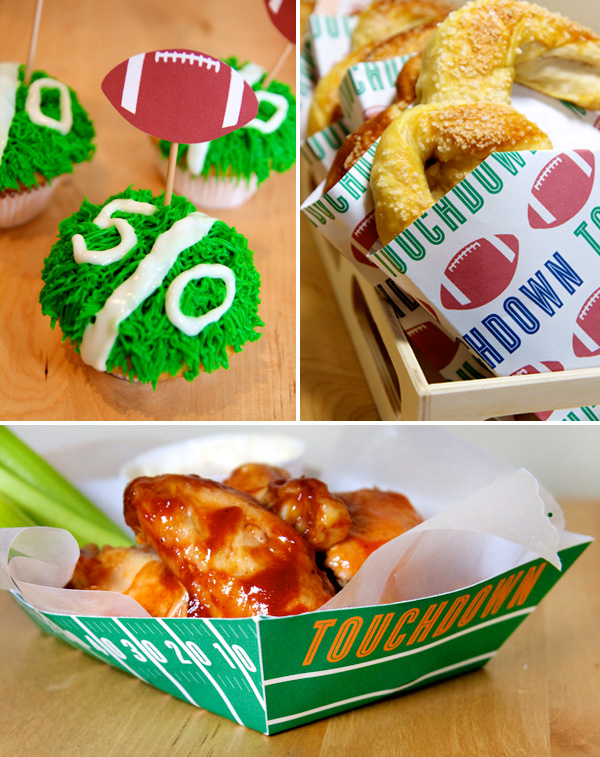 Football Food & Drink Printables