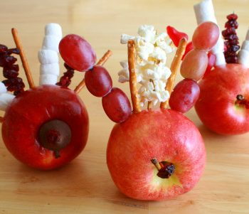 Edible Turkey Apples