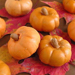 Chocolate Caramel Filled Pumpkins
