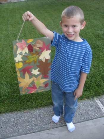 Fall Leaves Wall Hanging