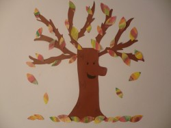 Coffee Filter Fall Tree