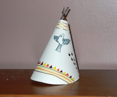 Tee Pee Craft