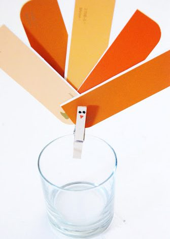 Paint Chip Turkey Clip