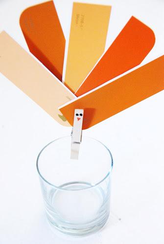 Paint Chip Turkey Clip