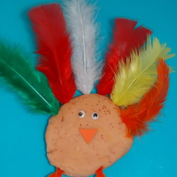 Play Dough Turkey