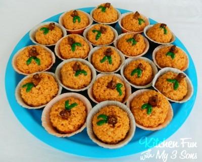 Pumpkin Surprise Krispy Treats