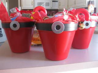 Santa Treat Buckets